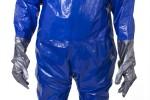 Tute monouso anti-contaminazione anti-schizzo in Blue Laminate